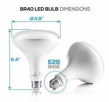Hyperikon BR40 LED Bulb, 15.5W 100W equivalent, 1300lm, 2700K Warm White, CRI UL