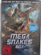 Mega Snake Box Sammlung 3 Filme: Mega Python vs. Gataroid, Club, Snakes on Train