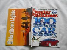 POPULAR MECHANICS Magazine-MAY,1996-100 YEARS OF THE CAR IN AMERICA
