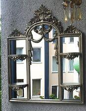 Wandspiegel/Konsole Antik Silber Badspiegel Spiegelkonsole 63X51 Spiegel  c510