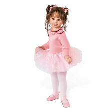 "Bradford Exchange Monika Levenig ""Lara"" Fully Jointed Ballerina Child Doll New"