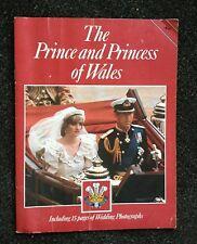 The Prince and Princess of Wales Charles & Diana 1981 Wedding Photo Book Jarrold