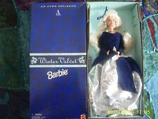 BARBIE AVON WINTER VELVET  SPECIAL EDITION 1995