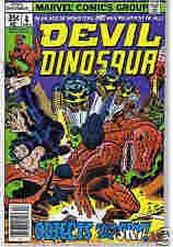 A306 Devil Dinosaur #4 (July 1978) Vintage!