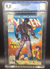 VINTAGE UNCANNY X-MEN 297 MARVEL COMIC BOOK CGC GRADED 9.0 WHITE PAGES 1993