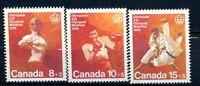 Canada MNH # B7-9 Olympics Semi Postal Combat Sports 1975 G421