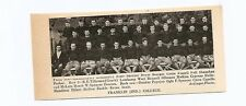 Franklin College Grizzlies Indiana 1939 Football Team Picture