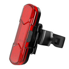 Recargable USB Bicicleta Luz Trasera Seguridad Ciclismo Aviso 5 LED