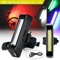 Cycling Bicycle Bike Tail Light Rear Safety Warning LED Laser Flashing Bulbs NEW