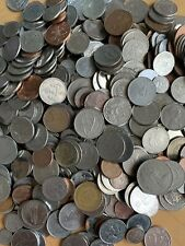 Mixed Bulk Lot 101 Assorted World/Foreign International Coins 1+ Silver Coins-A