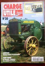 CHARGE UTILE n°20; Miniatures Dinky prend le bus/ Agricoles années 30/ Luc Court