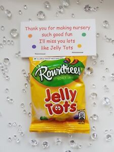 Jelly Tots Teacher Thank You Leaving Gift Nursery Pre School Teaching Assistant