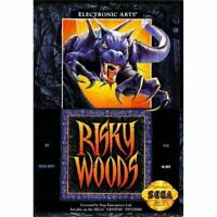 Risky Woods - Sega Genesis Game *CLEAN VG