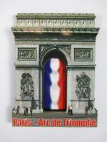 Paría Arc de Triunfo Madera Recuerdo Viajes Imán, Francia Francia, Nuevo