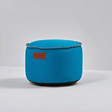 SACKit RETROit Canvas Drum Pouf Indoor Sessel Sitzhocker Hocker ø 50 cm h 32 cm
