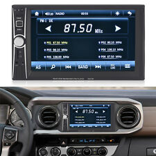 7INCH HD Double 2 DIN Car Stereo Bluetooth Touch screen MP3 MP5 DVD Player FM 8N