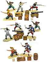 Forces of Valor Pirate Bundle - 10 figs (in 5), 16 accessories, 1:32nd scale
