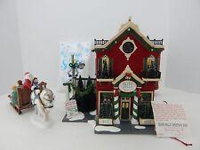 Dept 56 The Original Snow Village Silver Bells Christmas Shop #55040 New