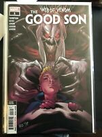 Web of Venom: The Good Son #1 2nd Printing Variant LOW PRINT KNULL