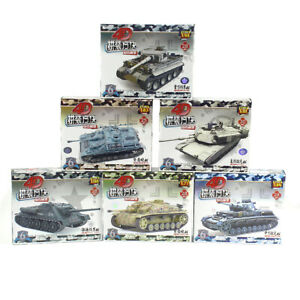6pcs 4D Medium StuG IV F2 Heavy Assemble Battle Tank Model Weapons Armor Gift