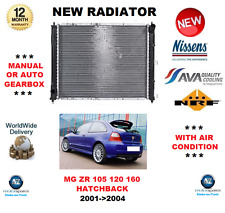 FOR MG ZR 105 120 160 2001->2004 NEW ENGINE COOLING RADIATOR ** OE QUALITY **