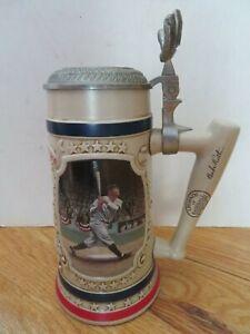 """Legends of Baseball BABE RUTH No 3 NEW YORK YANKEES CALLED SHOT 8"""" Tankard Mug"""