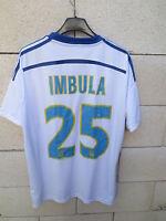 Maillot OLYMPIQUE de MARSEILLE OM Adidas IMBULA n°25 maglia shirt camiseta M