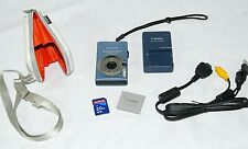 Canon PowerShot Digital ELPH SD1100 IS 8.0MP Digital Camera+Battery+Charger+Case