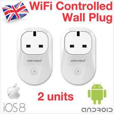 Orvibo 2x WiFi Wireless Remote Control Switch Smart Home Power Socket KT iOS8
