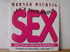 "★★ 12"" MAXI-Werner importante-Let 's Talk About Sex (LARGE CONDOM versione) 5:03"