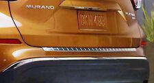Nissan Murano Satin Chrome Rear Bumper Protector  OEM 2015-2017