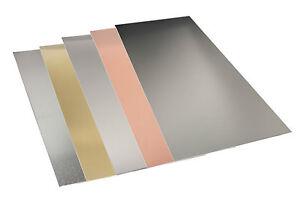 "K&S Sheet Metal 4"" x 10"" various thickness Aluminium, Brass, Copper, Tin, Steel"