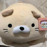 Lazy Cat Summit Plush bouncy stuffed animal  PETERSON Goroneko Summit f/s Japan