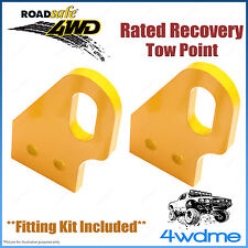 Toyota Prado 120 Series 4WD Roadsafe Rated Recovery Heavy Duty Tow Points Kit