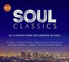 Various Artists - Soul Classics [New & Sealed] 3 CDs