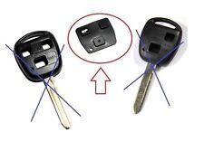 Botones Mando LLave Key Remote Toyota Avensis, Corolla, Yaris, Rav4,Celica,