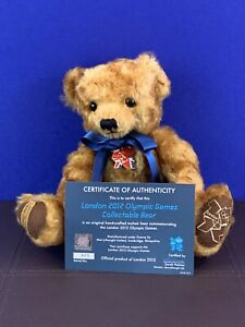 Merrythought London 2012 Olympic Games Collectable Teddy Bear