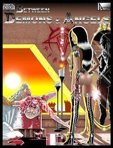 Between Demons & Angels, Original Indie Graphic Novel. Adult Content, NSFW.