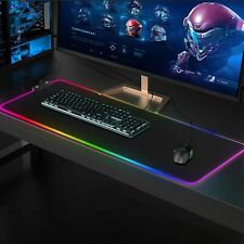 More details for 90x40cm gaming mouse pad large desk mat laptop keyboard non-slip awesome  gamer