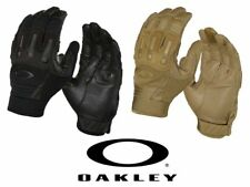 Oakley 94257 Transition Tactical Gloves Heavy Duty Protective Apparel BLK/CYT