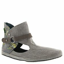 SWF10759 Sanuk Womens Sun Breeze Sidewalk Surfers  SIZE 8 Charcoal/Ikat