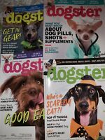 DOGSTER Magazine 2018 4 Issues Feb/March, April/May, June/July & Oct/November