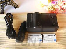 2X Battery + charger for Nikon Coolpix S550 Coolpix S560 LI-78/EN-EL11/DB80 new