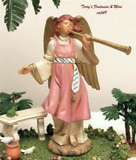 "Fontanini Depose Italy 6.5"" Temira Club Symbol Membership Nativity Angel Mib"