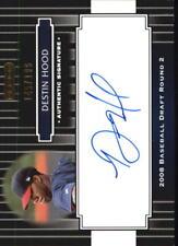 2008 Razor Signature Series Black #138 Destin Hood Auto /199 - NM-MT