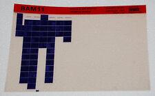 DEC BAM11 Status/Alarm Monitor Technical Manual, Microfiche