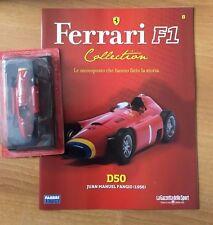 D50 JUAN MANUEL FANGIO FERRARI F1 Collection Fabbri MODELLINO DIE CAST 1:43 +RIV