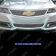Fits 2014-2018 Chevy Impala Stainless Bumper Mesh Grille Insert