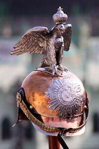 Imperial Russian Horse Guard Officers's Helmet- German Picklehaube helmet LZ595