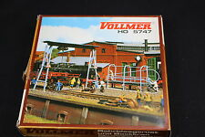 W182 VOLLMER Train Ho Maquette 5747 Nettoyeur et grue portique cleaningplant